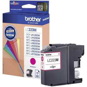 Cartuccia Originale Brother LC 223 Magenta