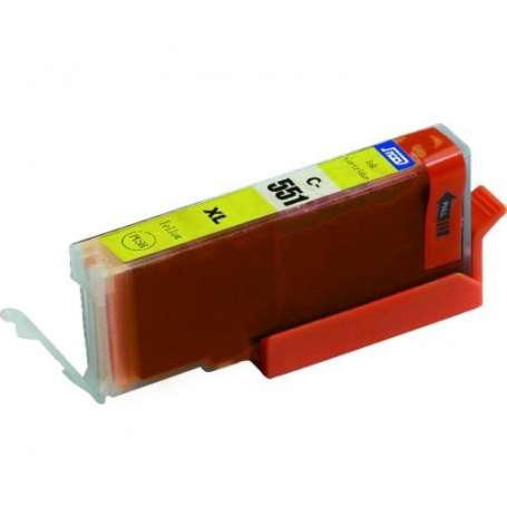 Cartuccia Compatibile Canon CLI 551Y Giallo XL