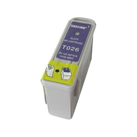 Cartuccia Compatibile Epson T026 Nera