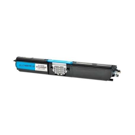 Toner Compatibile Epson C1600, CX16 Ciano