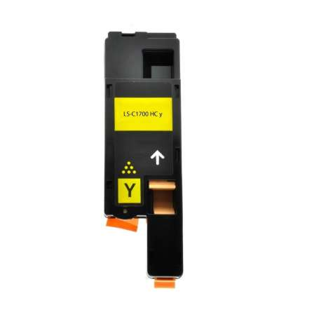 Toner Compatibile Epson C1700, CX17 Giallo