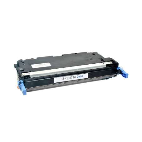 Toner Compatibile Hp 3600, Q6471A Ciano