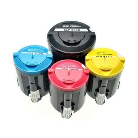 Toner Compatibili Samsung CLP 300 Rainbow Kit