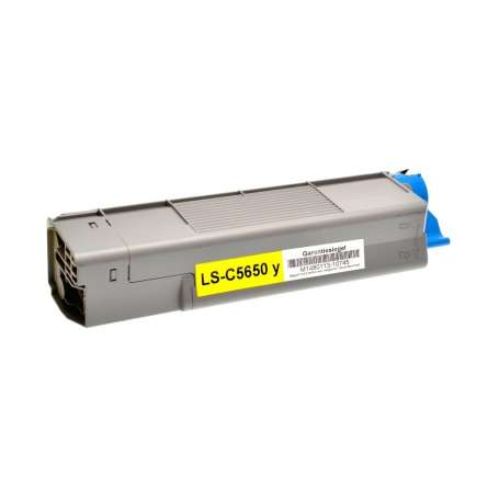 Toner Compatibile Oki C5650 Giallo
