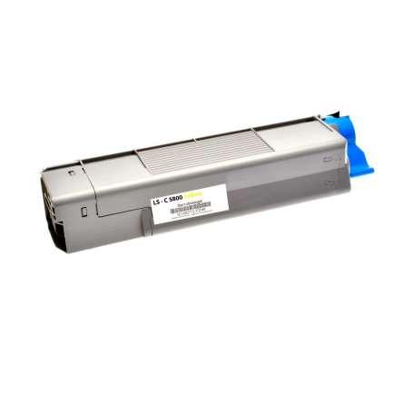 Toner Compatibile Oki C5800, C5900 Giallo