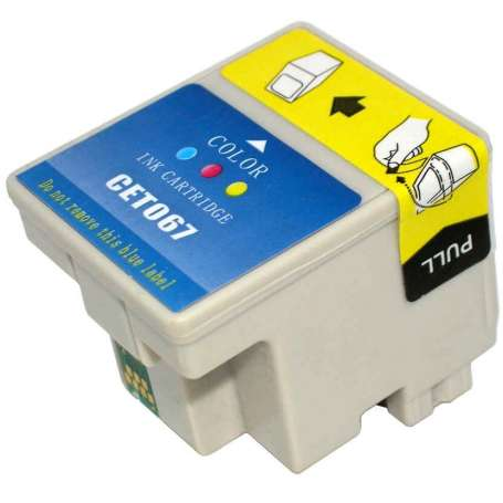 Cartuccia Compatibile Epson T067 Colore