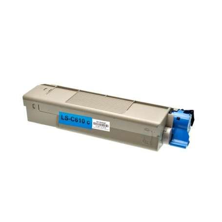Toner Compatibile Oki C610 Ciano