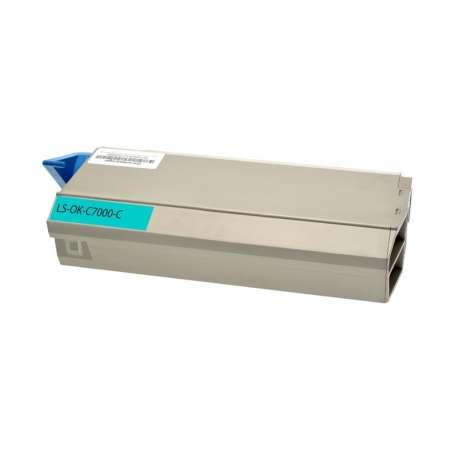 Toner Compatibile Oki C710 Ciano