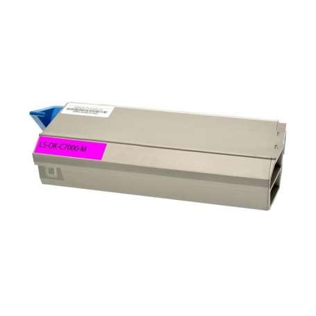 Toner Compatibile Oki C710 Magenta