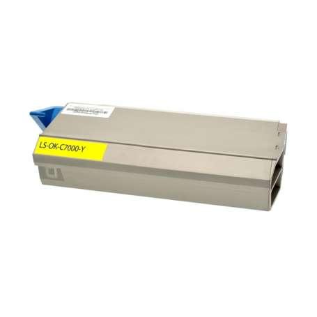 Toner Compatibile Oki C710 Giallo