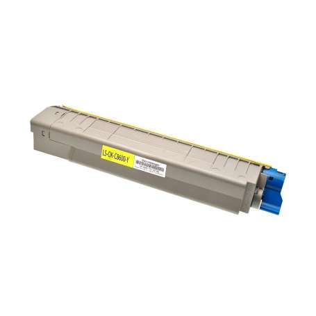 Toner Compatibile Oki C8600 Giallo