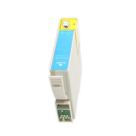 Cartuccia Compatibile Epson T0802 Ciano