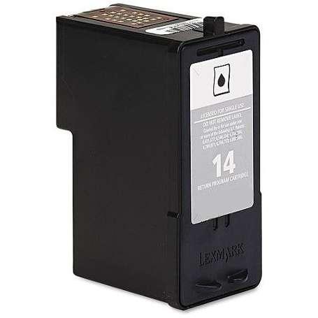 Cartuccia Compatibile Lexmark 14 Nera