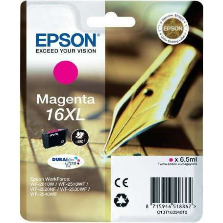 Cartuccia Originale Epson 16XL Magenta