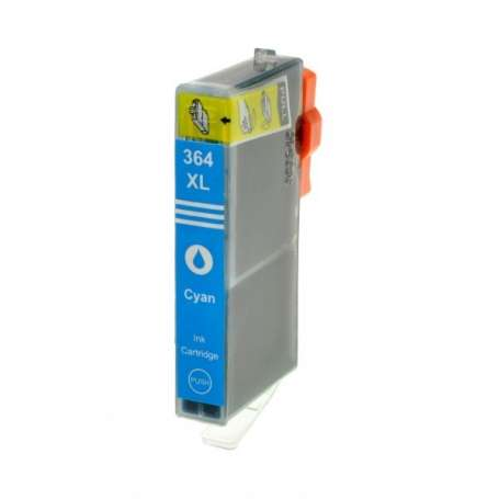 Cartuccia Compatibile HP 364XL Ciano (CB323E)