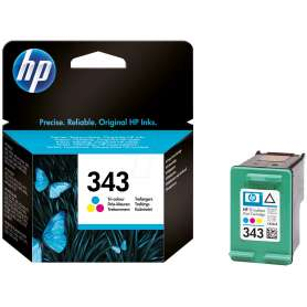 Cartuccia Originale HP 343 Colore (C8766EE)