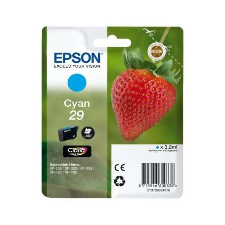 Cartuccia Originale Epson 29 Ciano