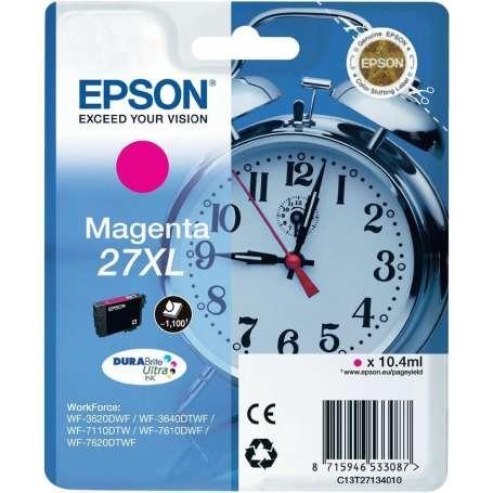 Cartuccia Originale Epson 27XL Magenta