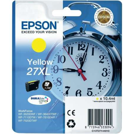Cartuccia Originale Epson 27XL Giallo