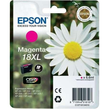 Cartuccia Originale Epson 18XL Magenta