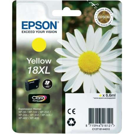 Cartuccia Originale Epson 18XL Giallo