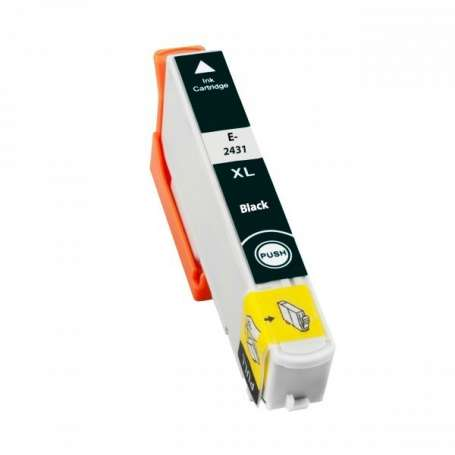 Cartuccia Compatibile Epson 24XL, T2431 Nera