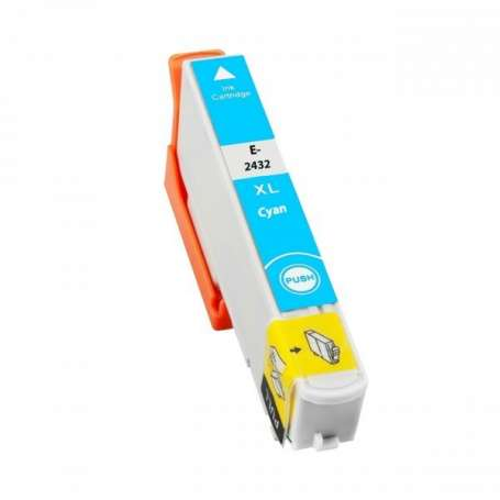 Cartuccia Compatibile Epson 24XL, T2432 Ciano