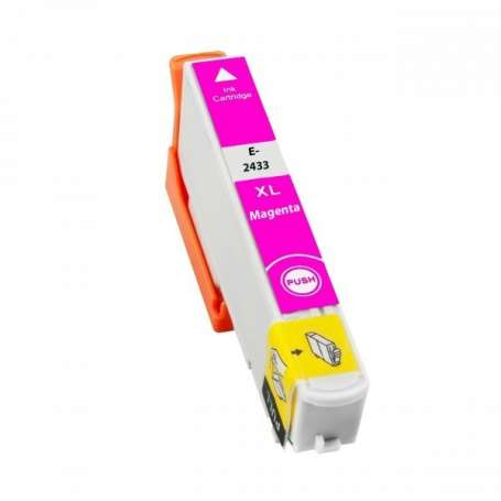 Cartuccia Compatibile Epson 24XL, T2433 Magenta