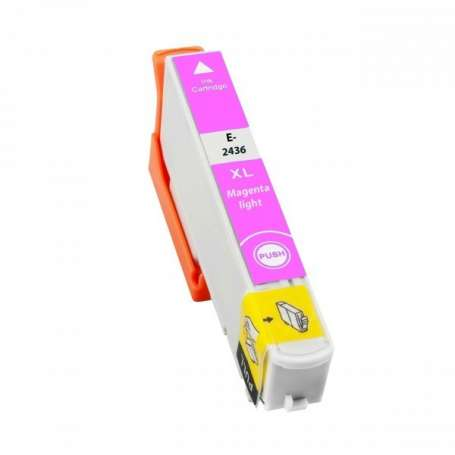 Cartuccia Compatibile Epson 24XL, T2436 Light Magenta