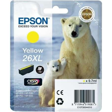 Cartuccia Originale Epson 26XL Giallo