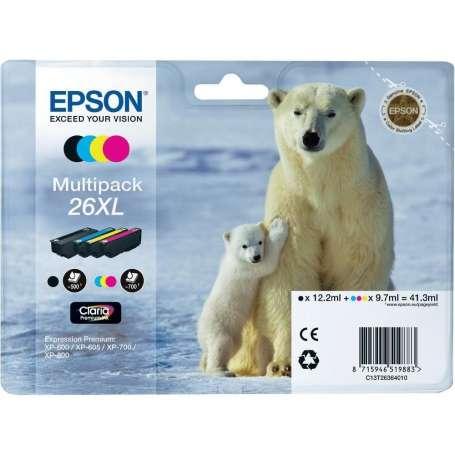 Multipack Originale Epson 26XL