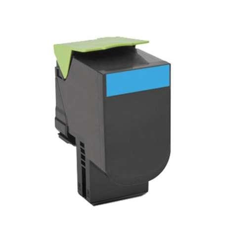 Toner Compatibile Lexmark CS 317DN Ciano
