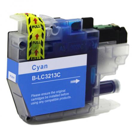 Cartuccia Compatibile Brother LC-3213 Ciano