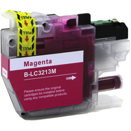Cartuccia Compatibile Brother LC-3213 Magenta