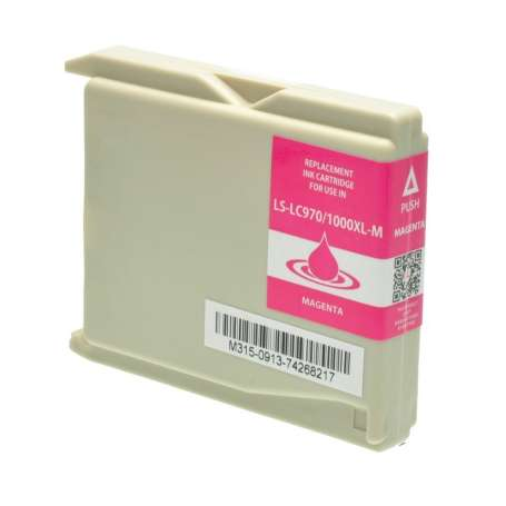 Cartuccia Compatibile Brother LC-1000M Magenta