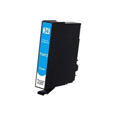 Cartuccia Compatibile Epson 34XL Ciano, T3472