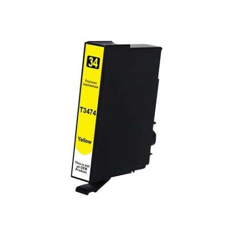 Cartuccia Compatibile Epson 34XL Gialla, T3474