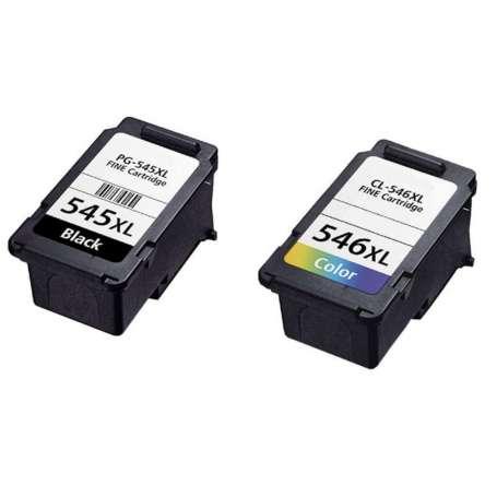 Multipack Compatibile Nero + Colori (PG-545/CL-546)