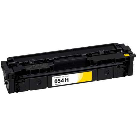 Toner compatibile per Canon 054H Giallo