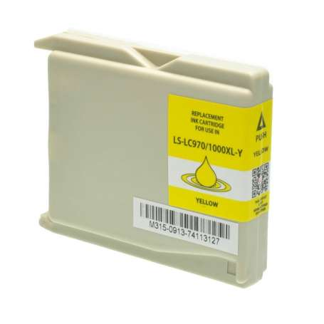 Cartuccia Compatibile Brother LC-1000Y Giallo