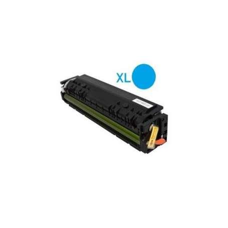 Toner compatibile Hp W2211A 207A Ciano (senza Chip)