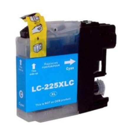 Cartuccia Compatibile per Brother LC 225XL Ciano