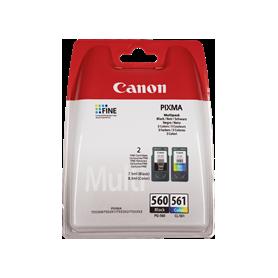 Multipack Originale Nero + Colore PG-560 + CL561