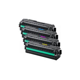 Toner Compatibile per Samsung CLT-C505L Ciano
