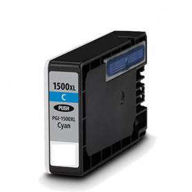 Cartuccia Compatibile per Canon PGI-1500XL Ciano 9193B001