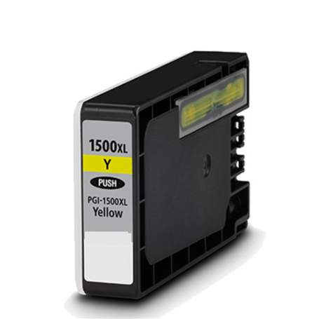 Cartuccia Compatibile per Canon PGI-1500XL Giallo 9195B001