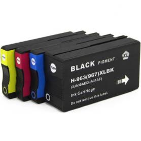 Cartuccia compatibile per HP 963XL 3JA30AE nero