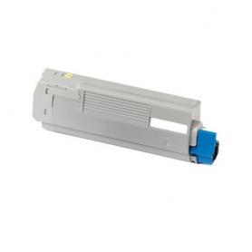 Toner per OKI MC563 c532 Giallo 46490601