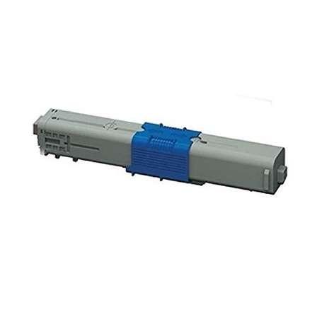 Toner compatibile Oki MC363 c332 46508711 Ciano