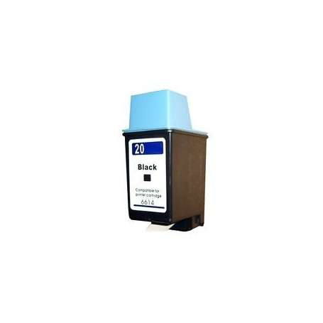 Cartuccia Compatibile HP 20 Nera (C6614A)